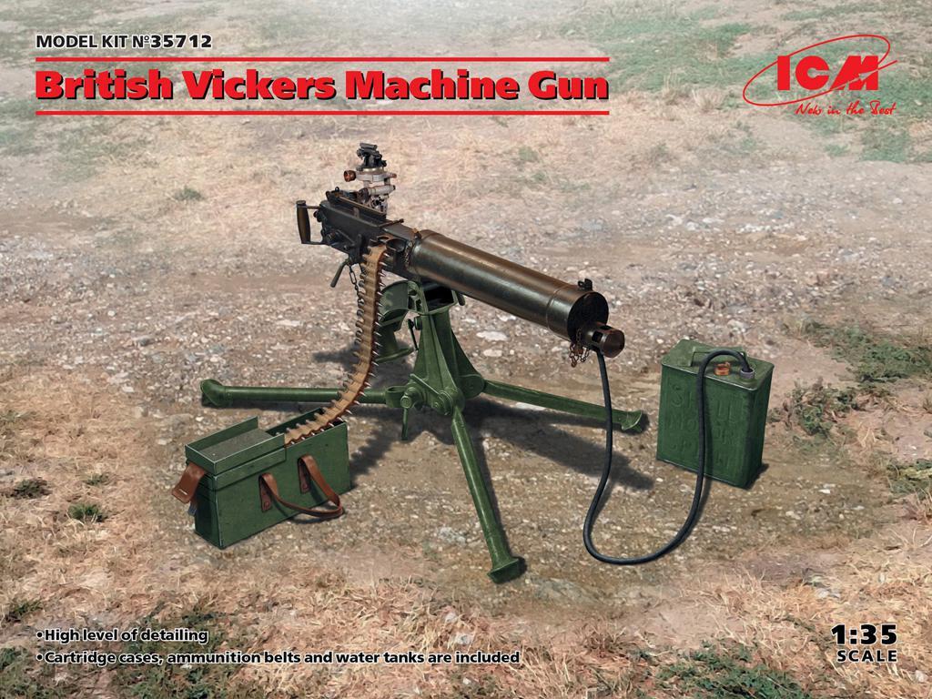 British Vickers Machine Gun (Vista 1)