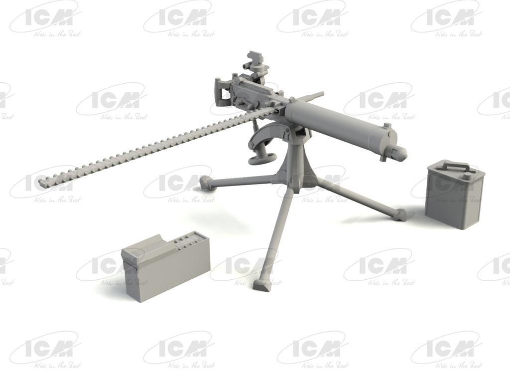 British Vickers Machine Gun (Vista 3)