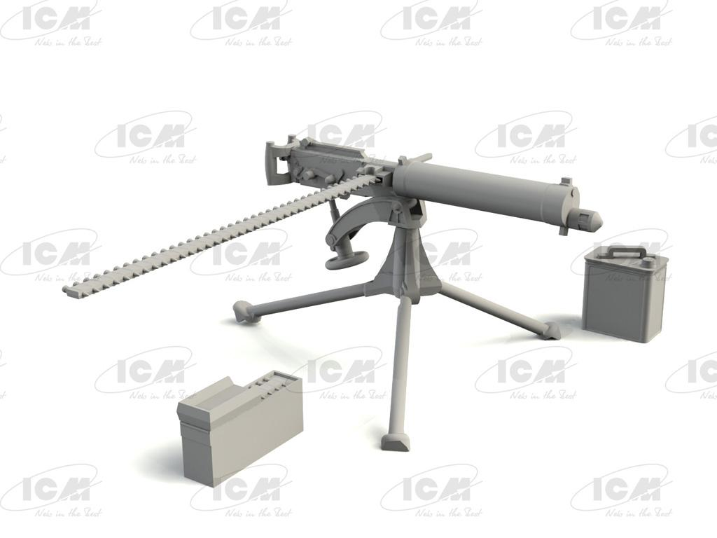 British Vickers Machine Gun (Vista 4)