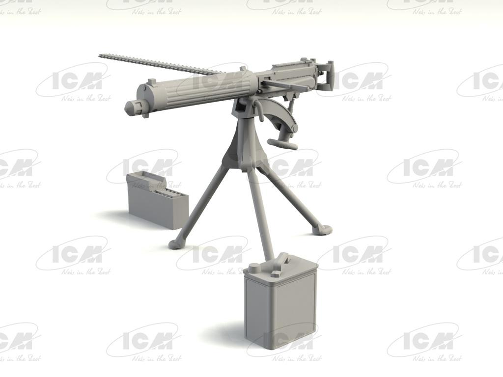 British Vickers Machine Gun (Vista 5)