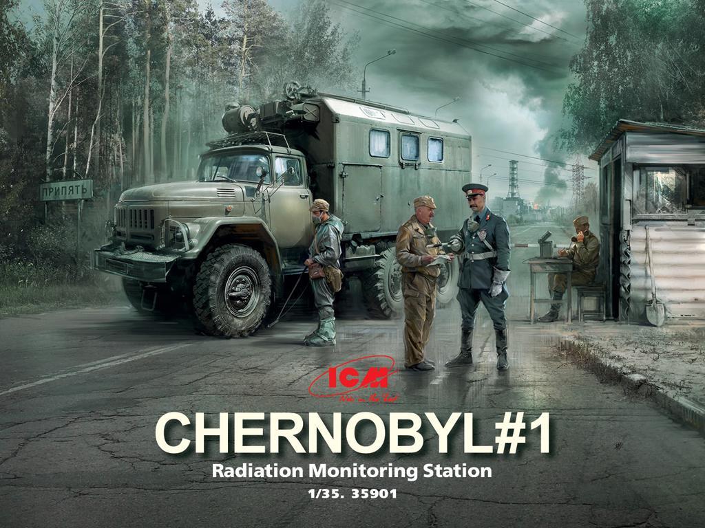 Chernobyl #1. Estación de Monitoreo de Radiación (Vista 1)