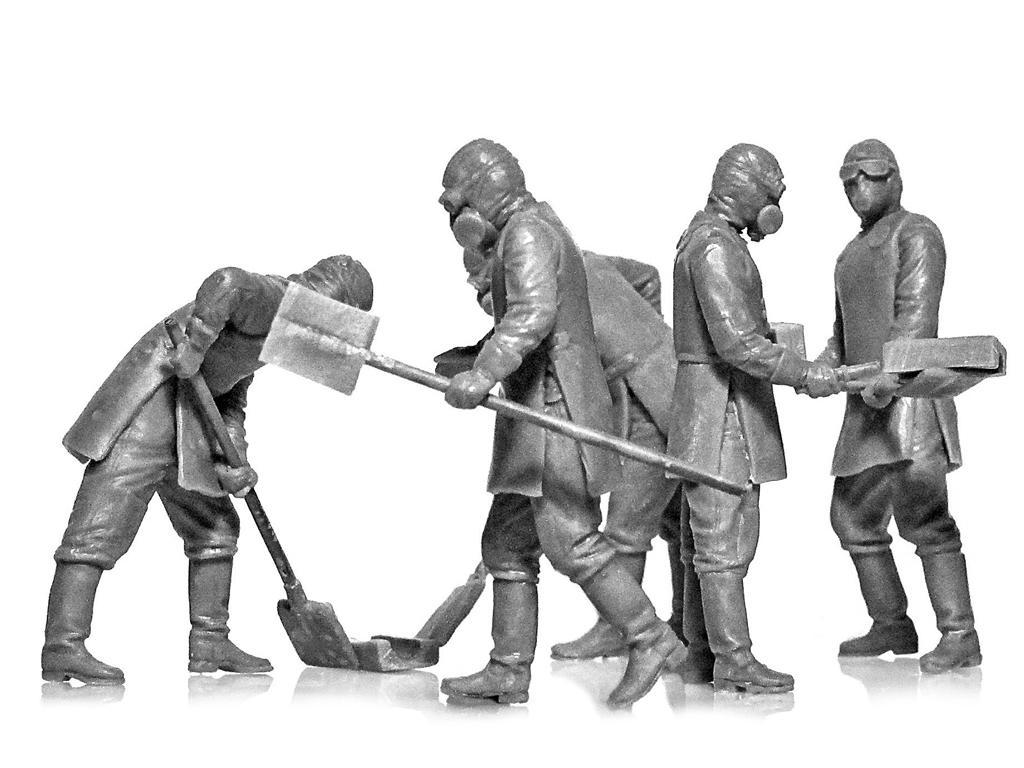 Chernobyl #3. Limpiadores de escombros (Vista 3)