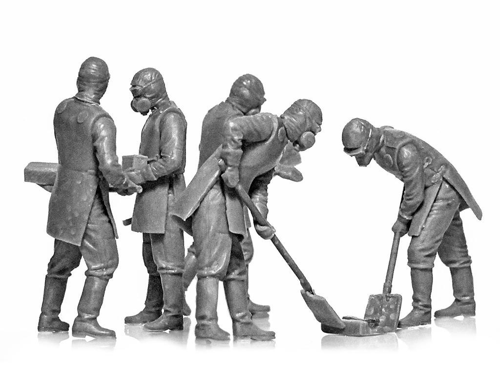 Chernobyl #3. Limpiadores de escombros (Vista 4)