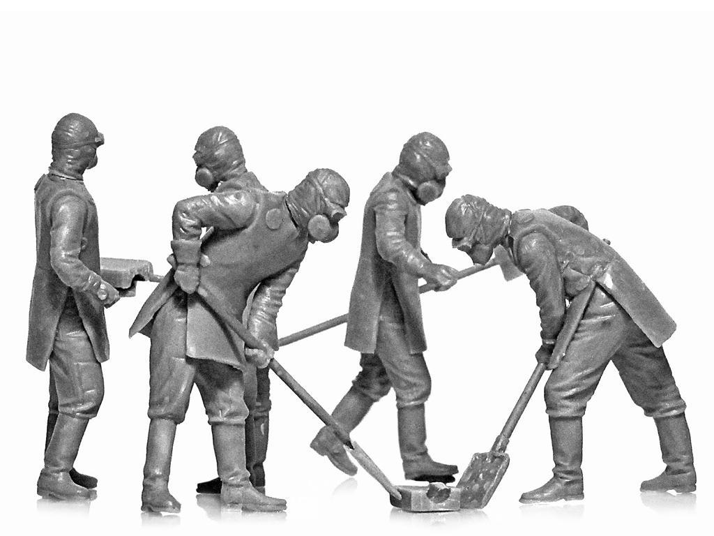 Chernobyl #3. Limpiadores de escombros (Vista 6)