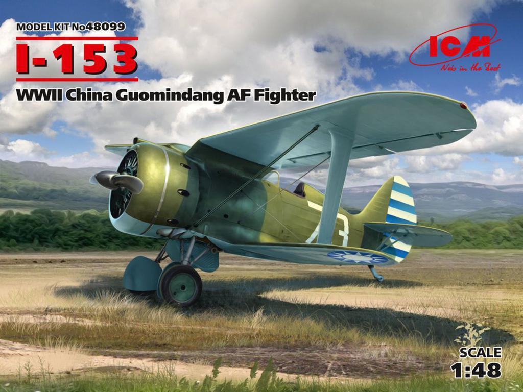 I-153 China Guomindang AF Fighter (Vista 1)