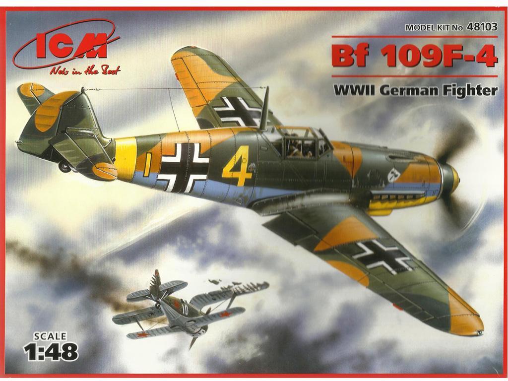Messerschmitt Bf-109 F-2 (Vista 1)