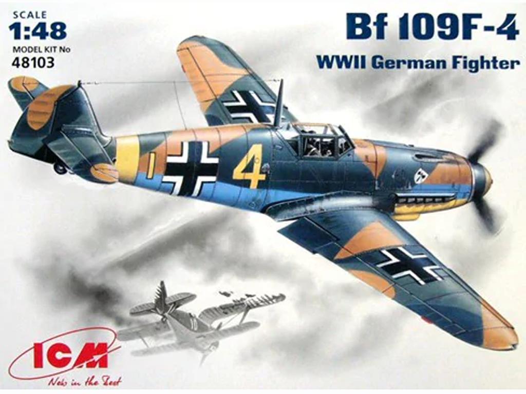 Messerschmitt BF-109 F-4 (Vista 1)