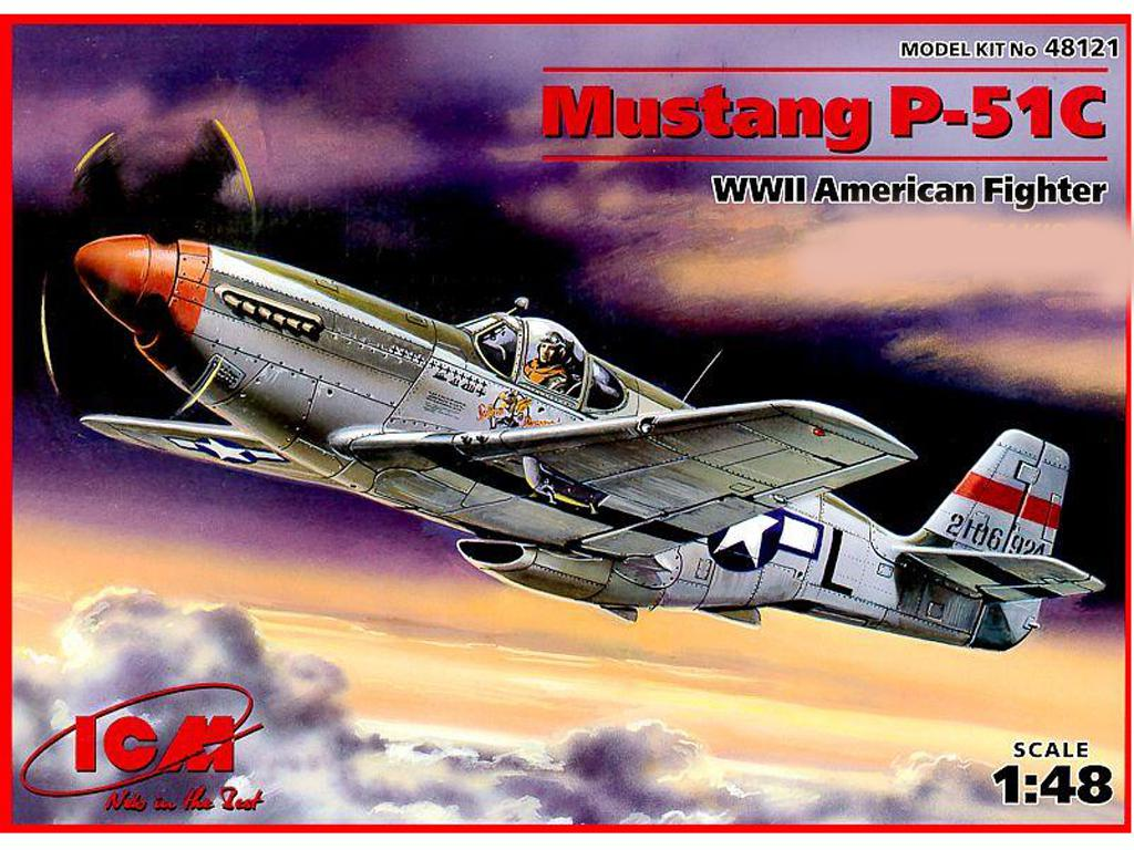 P-51C Mustang USAF (Vista 1)