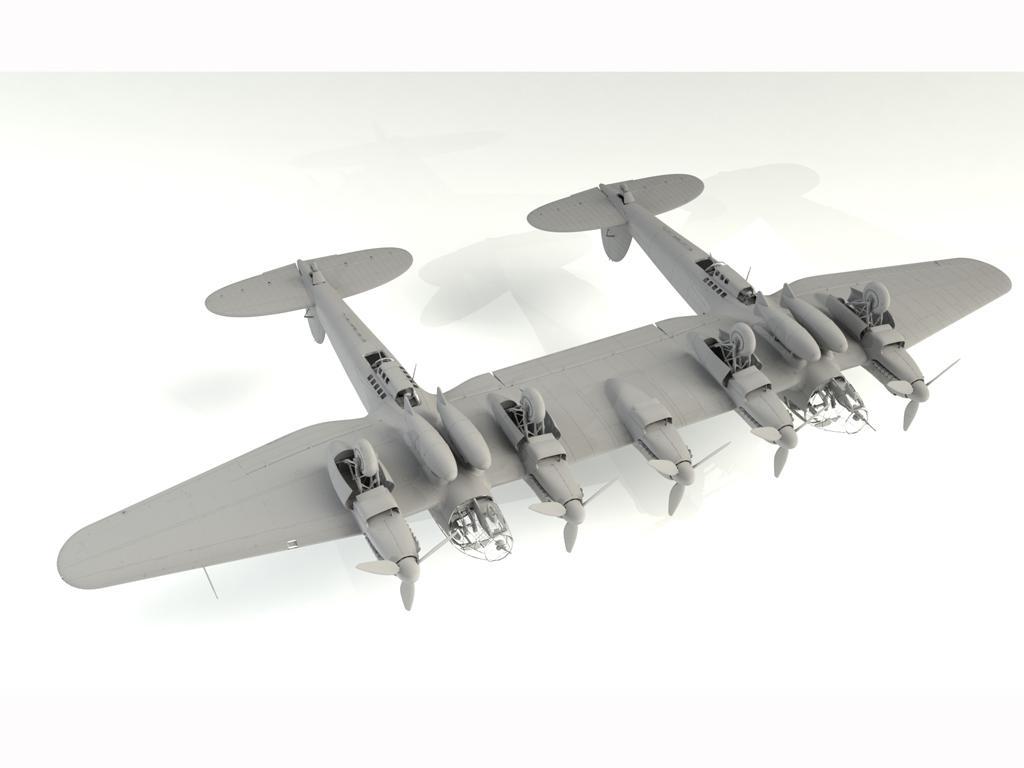 He 111Z-1 Zwilling, WWII German Glider Tug (Vista 2)