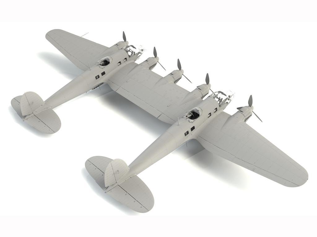 He 111Z-1 Zwilling, WWII German Glider Tug (Vista 4)