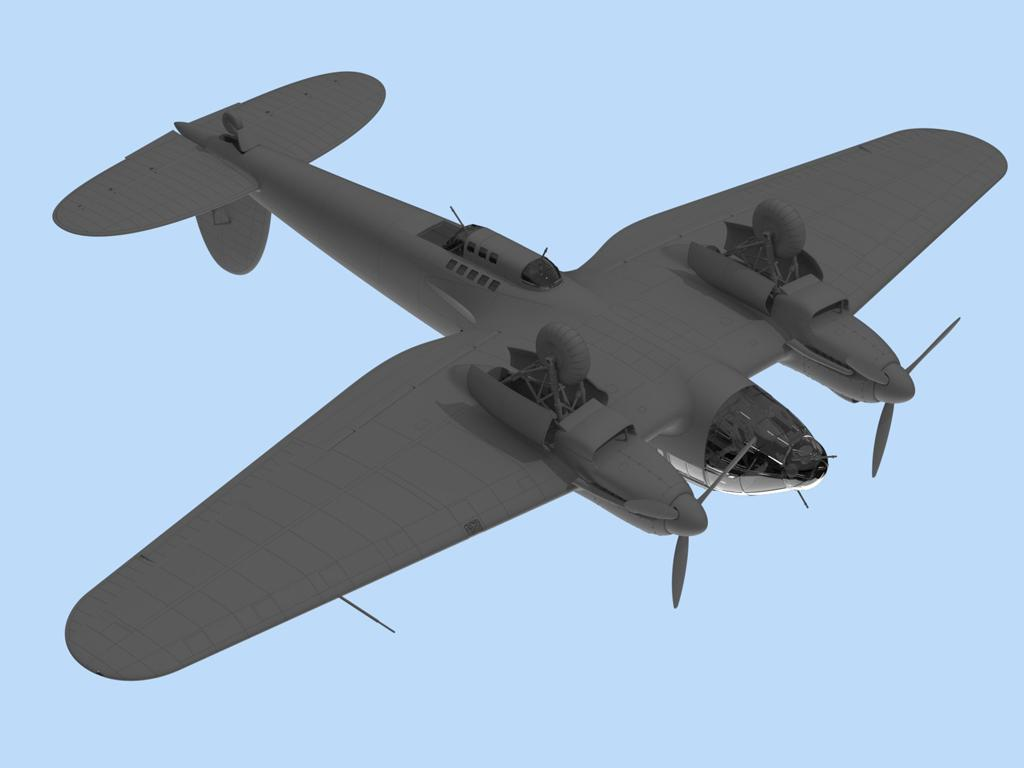 He 111H-3, WWII German Bomber (Vista 5)