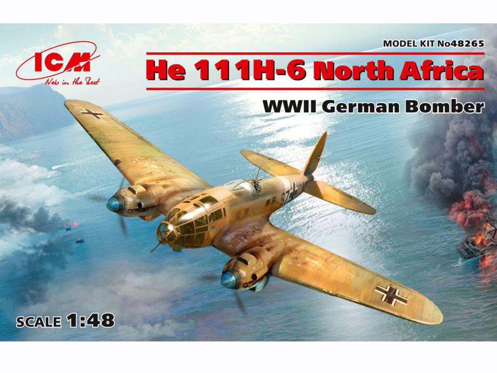 He 111H-6 North Africa (Vista 1)
