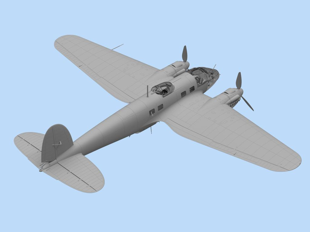 He 111H-6 North Africa (Vista 4)