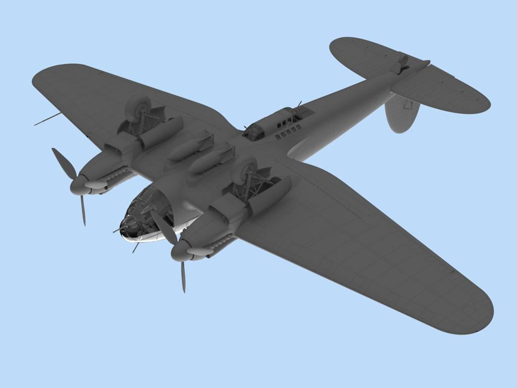 He 111H-6 North Africa (Vista 5)