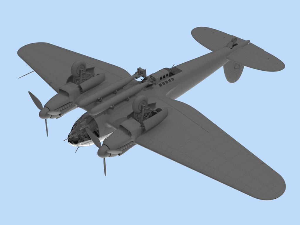 He 111H-6 North Africa (Vista 6)