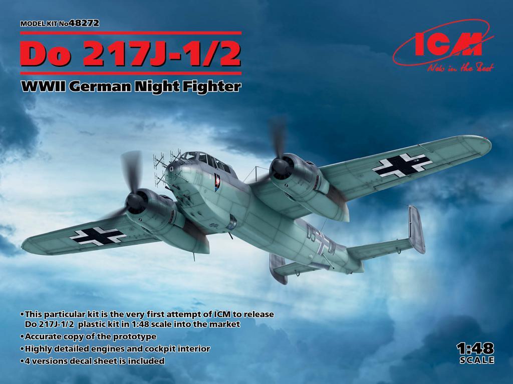 Do 217J-1/2,  German Night Fighter (Vista 1)
