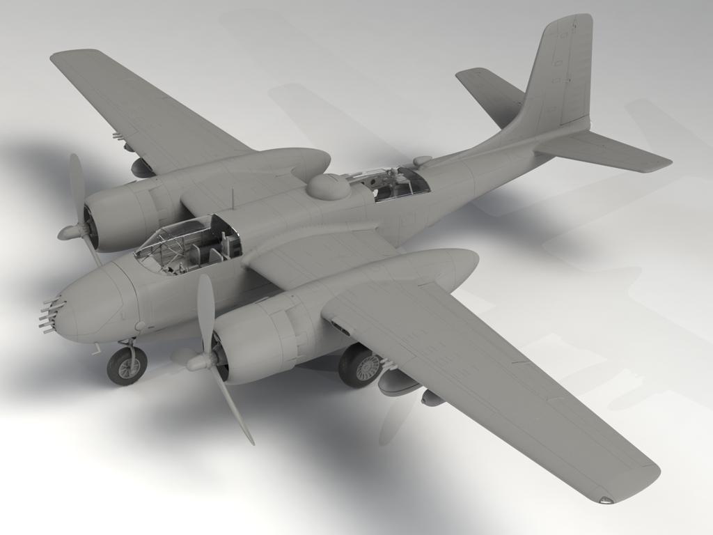 B-26B-50 Invader (Vista 3)