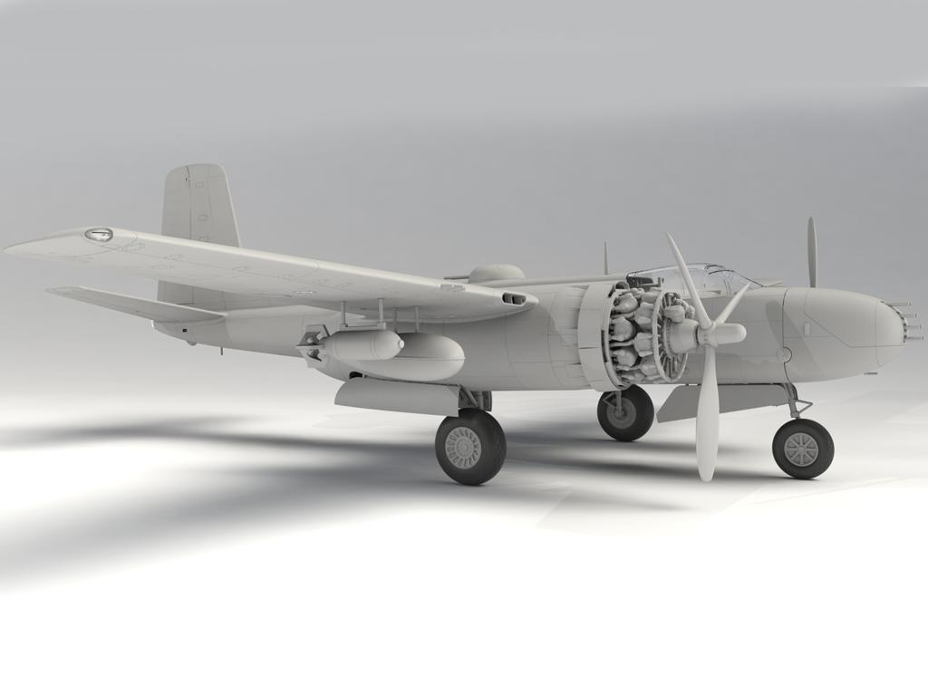 B-26B-50 Invader (Vista 6)