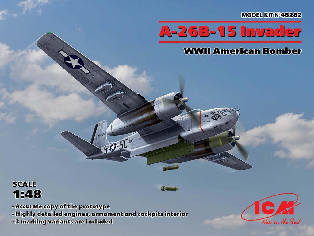 A-26B-15 Invader, Bombardero Americano (Vista 1)