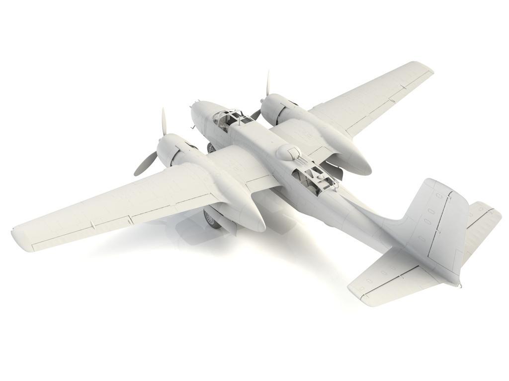 A-26B-15 Invader, Bombardero Americano (Vista 10)