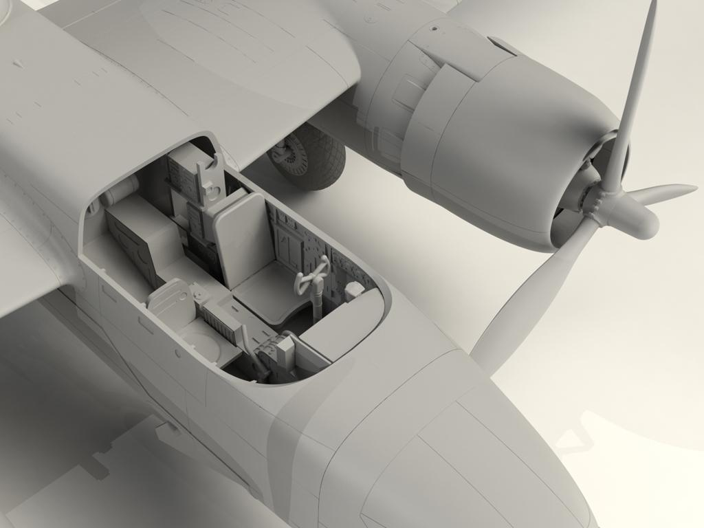A-26B-15 Invader, Bombardero Americano (Vista 11)