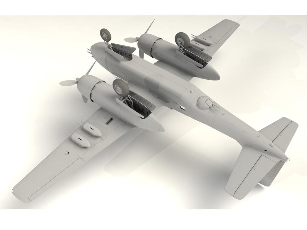A-26B-15 Invader, Bombardero Americano (Vista 13)