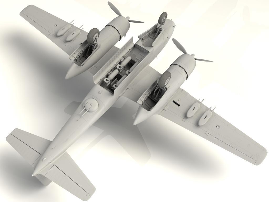 A-26B-15 Invader, Bombardero Americano (Vista 14)