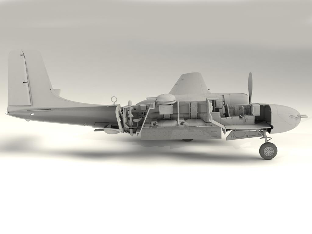 A-26B-15 Invader, Bombardero Americano (Vista 15)