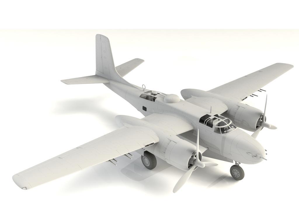 A-26B-15 Invader, Bombardero Americano (Vista 16)