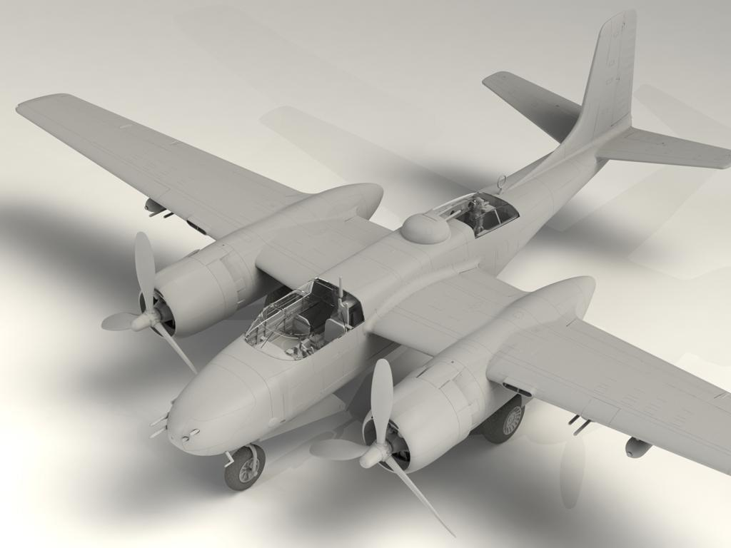 A-26B-15 Invader, Bombardero Americano (Vista 3)