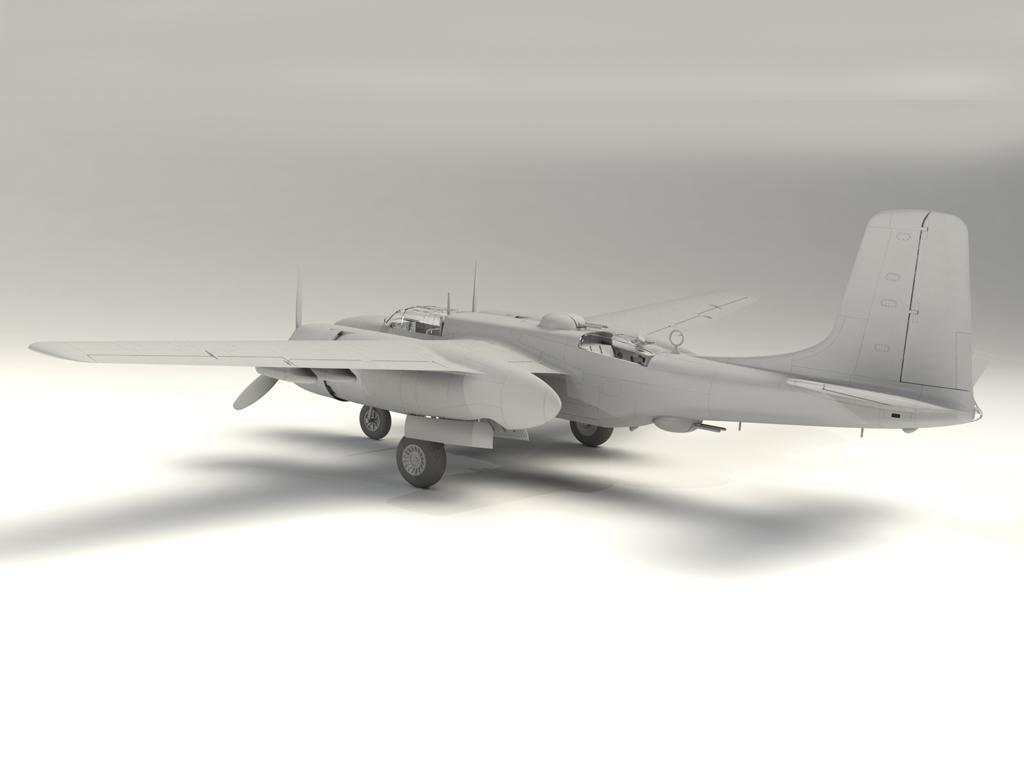A-26B-15 Invader, Bombardero Americano (Vista 4)