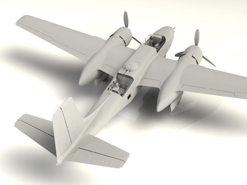 A-26B-15 Invader, Bombardero Americano (Vista 5)