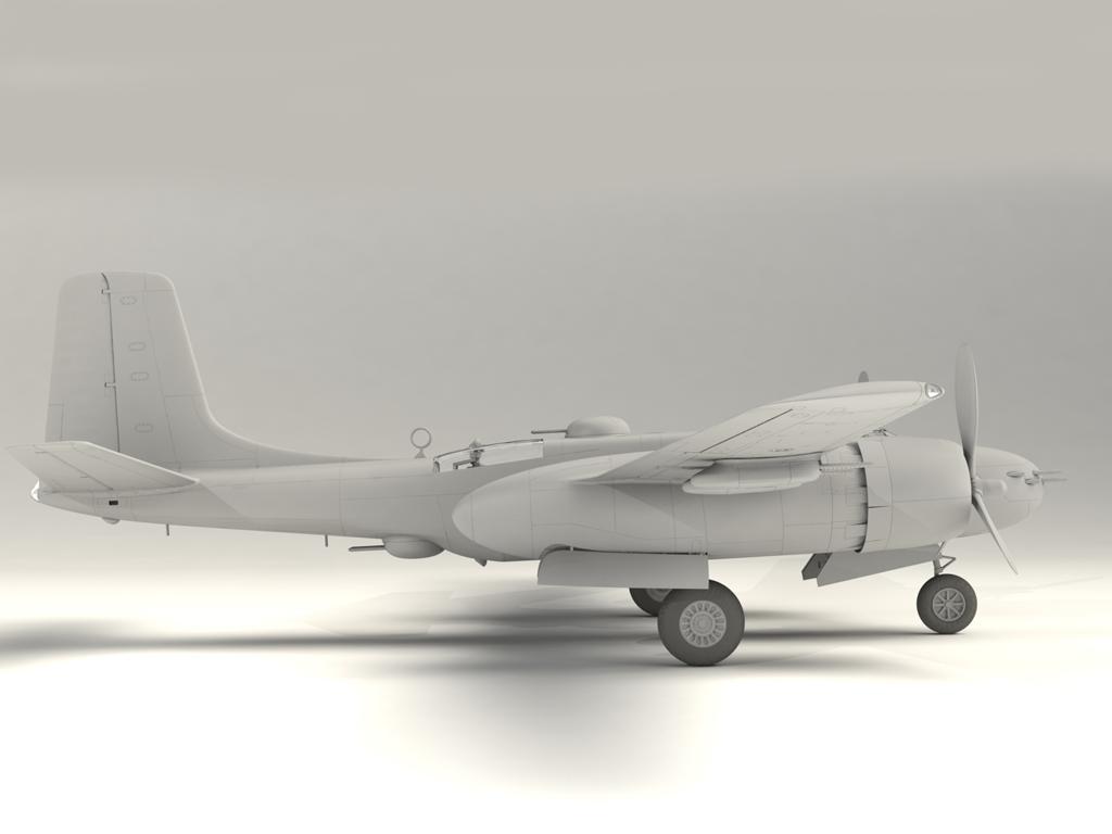 A-26B-15 Invader, Bombardero Americano (Vista 6)