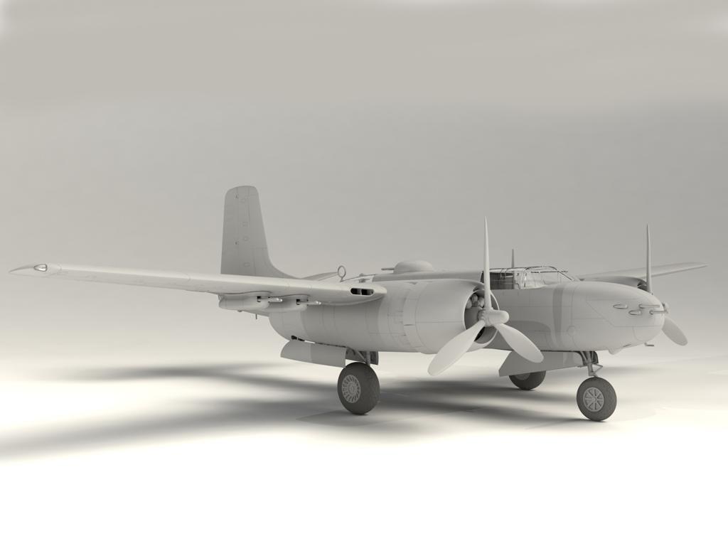 A-26B-15 Invader, Bombardero Americano (Vista 7)