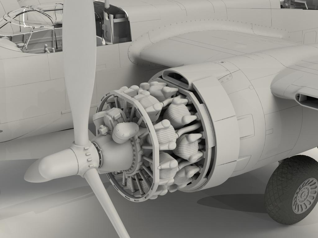 A-26B-15 Invader, Bombardero Americano (Vista 8)