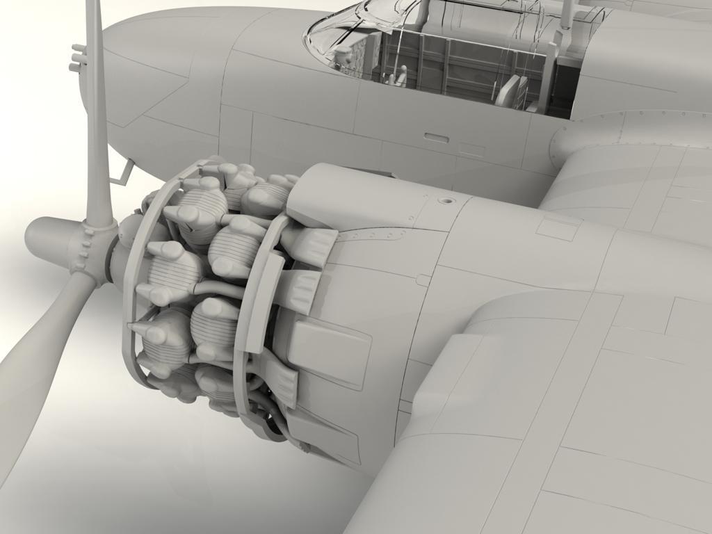 A-26B-15 Invader, Bombardero Americano (Vista 9)