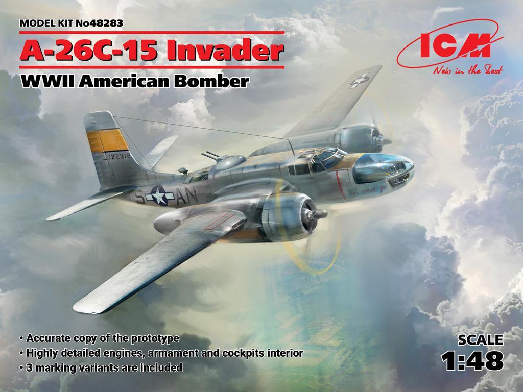 A-26C-15 Invader, WWII American Bomber (Vista 1)