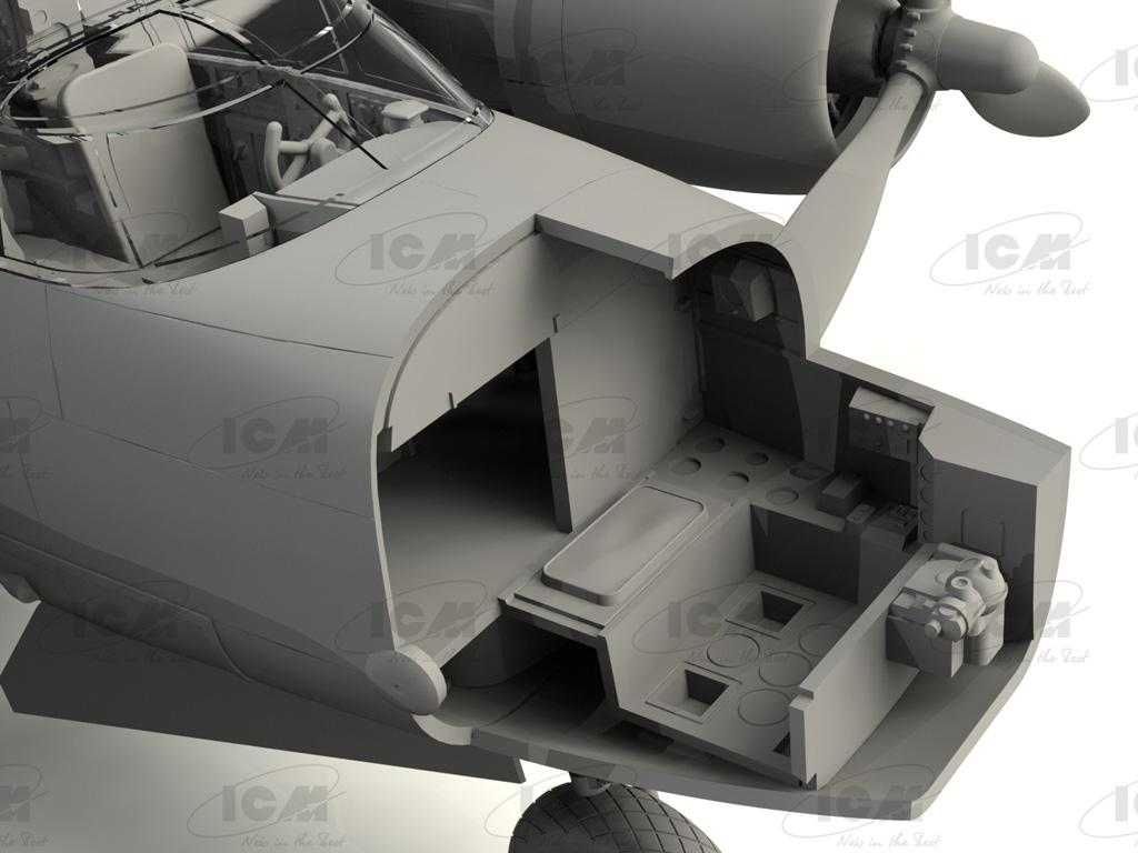 A-26C-15 Invader, WWII American Bomber (Vista 2)
