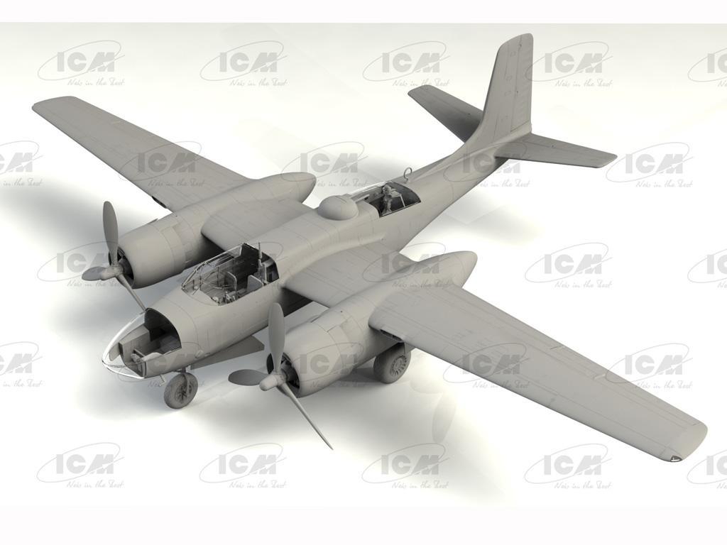 A-26C-15 Invader, WWII American Bomber (Vista 3)