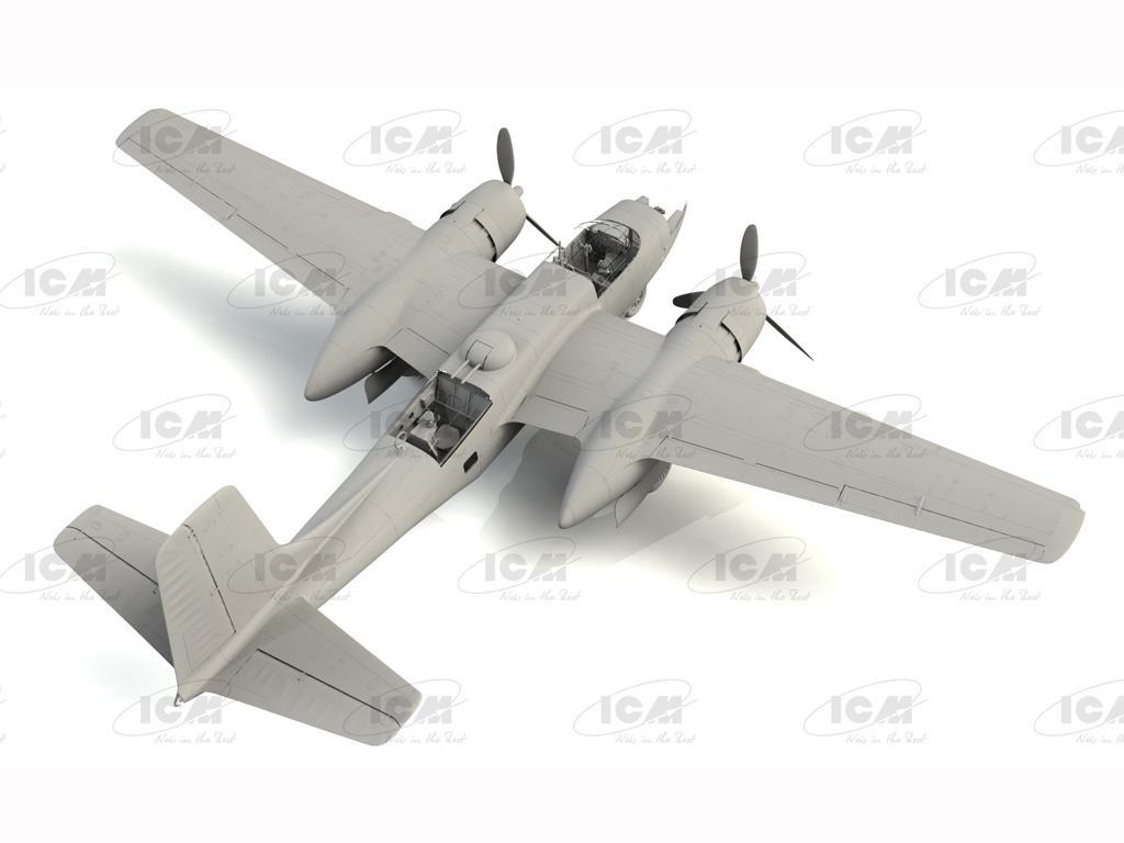 A-26C-15 Invader, WWII American Bomber (Vista 4)