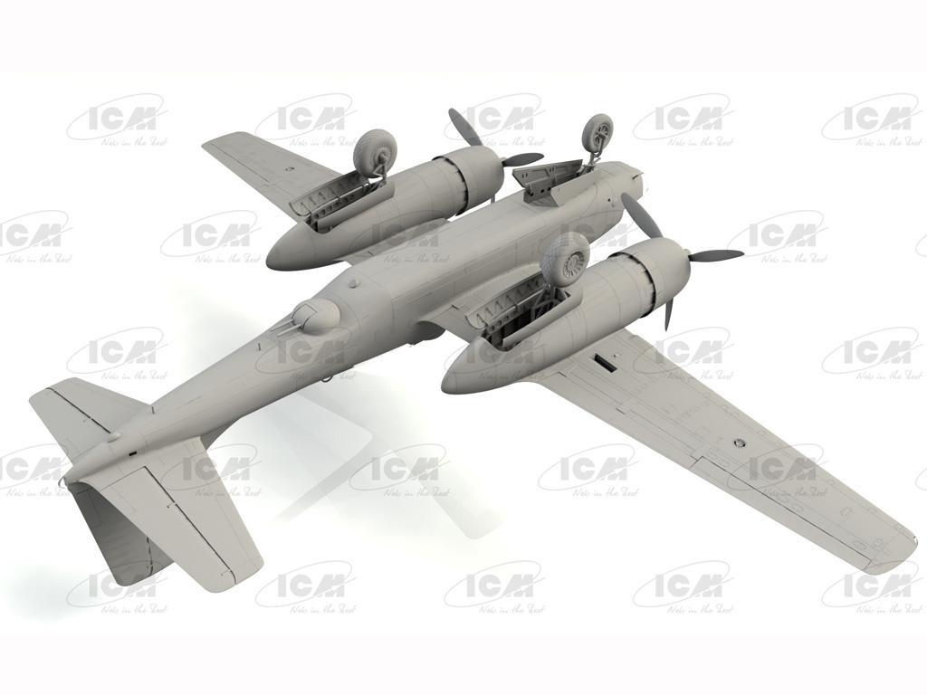A-26C-15 Invader, WWII American Bomber (Vista 5)