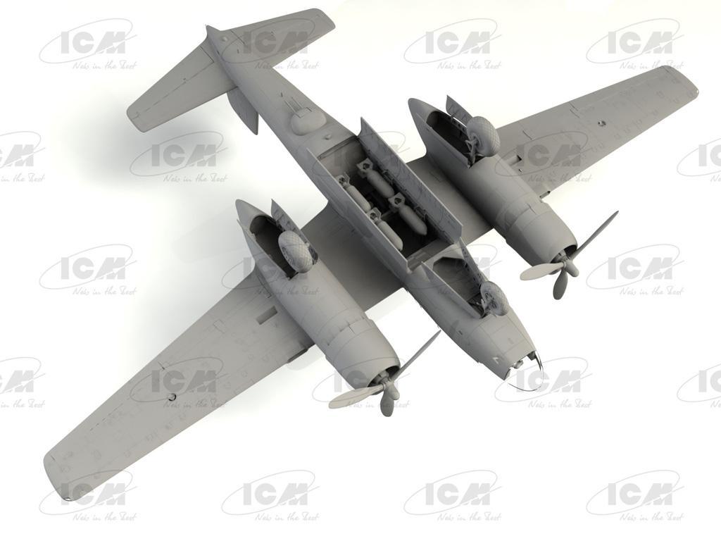 A-26C-15 Invader, WWII American Bomber (Vista 6)