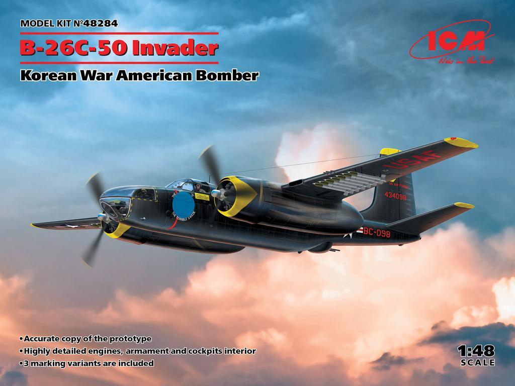 B-26C-50 Invader, Korean War American Bomber (Vista 1)