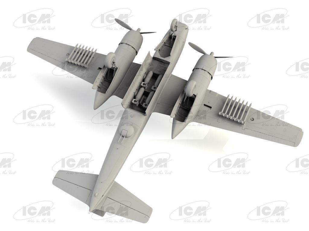 B-26C-50 Invader, Korean War American Bomber (Vista 2)