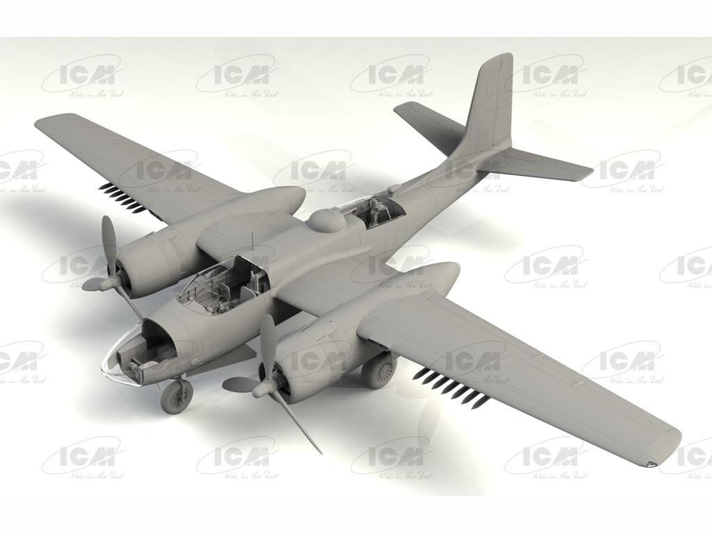 B-26C-50 Invader, Korean War American Bomber (Vista 3)