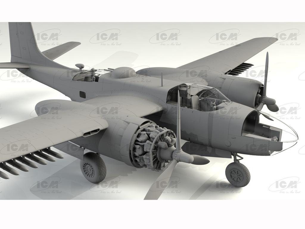 B-26C-50 Invader, Korean War American Bomber (Vista 5)