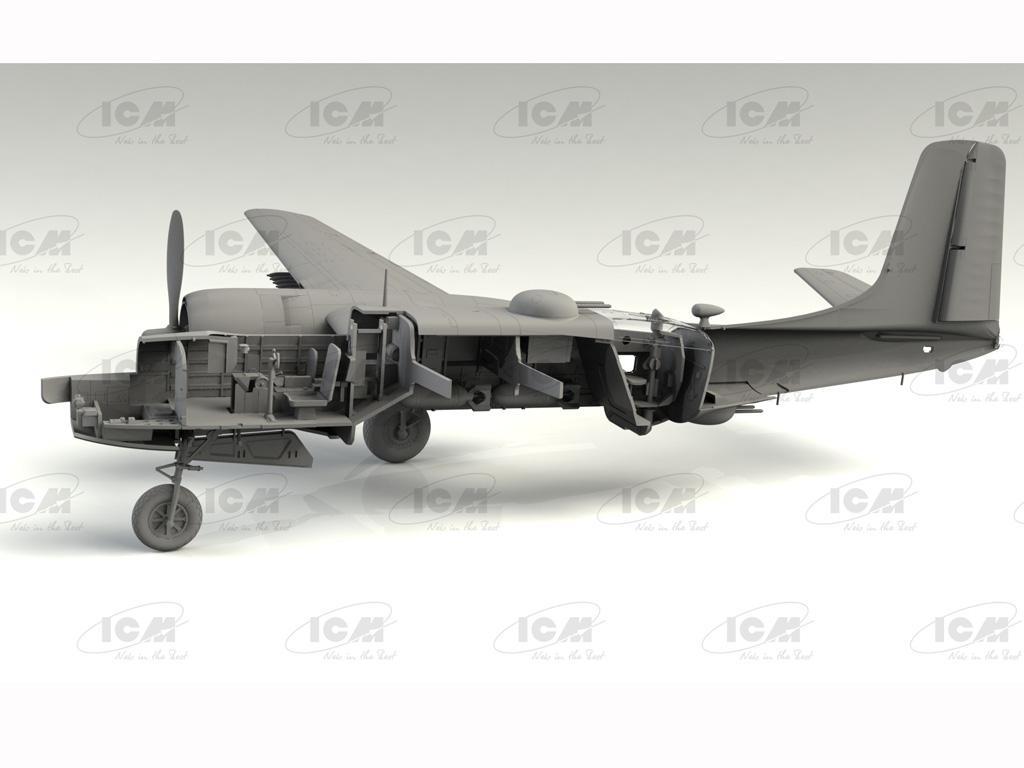 B-26C-50 Invader, Korean War American Bomber (Vista 6)
