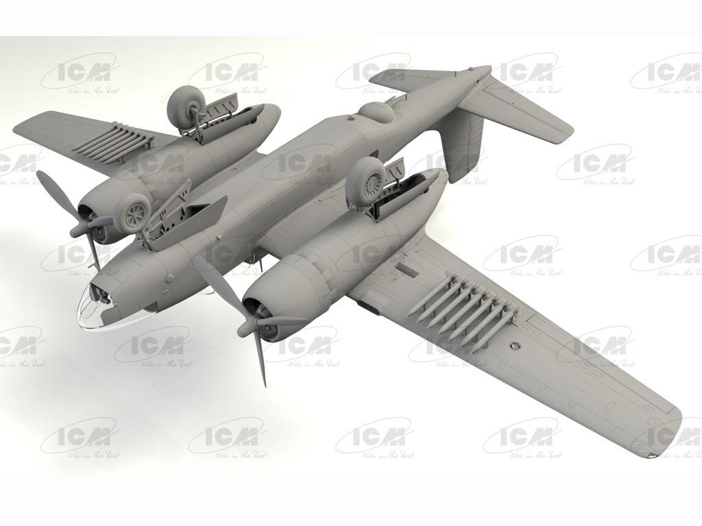 B-26C-50 Invader, Korean War American Bomber (Vista 7)