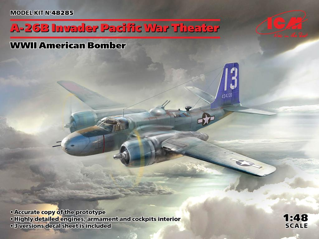 A-26B Invader Pacific War Theater (Vista 1)