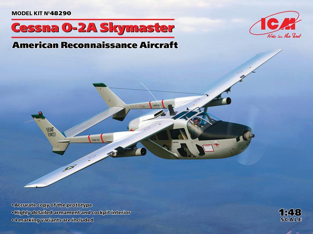 Cessna O-2A Skymaster, American Reconnaissance Aircraft (Vista 1)